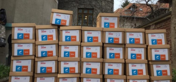 Alianța 2020 USR PLUS a depus la BEC peste 500.000 de semnături de susținere