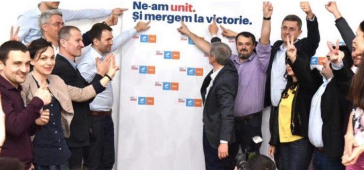 Victorie pentru Alianța 2020 USR PLUS