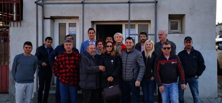 Filiala USR Tulcea isi mareste prezenta in judet printr-o noua filiala. USR Isaccea.  Invitat, Vlad Gheorghe candidat al alianței 2020 USR Plus, la alegerile europarlamentare.