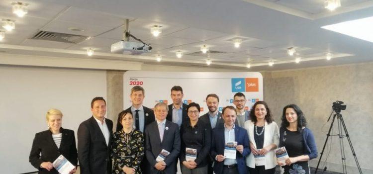 Alianța 2020 USR PLUS a lansat Manifestul pentru Europa Viitorului