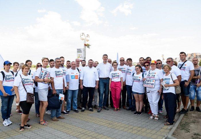Dan Barna în Tulcea: Problemele din Tulcea, rezultatul corupției și al clientelismului înrădăcinat