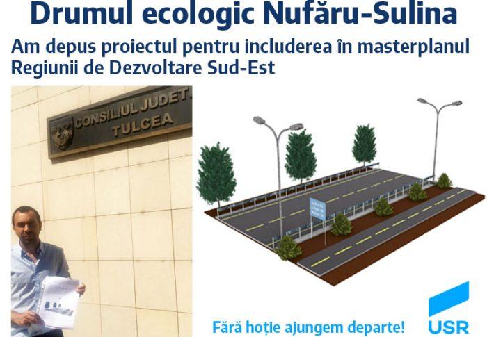 Drumul ecologic Nufăru – Sulina