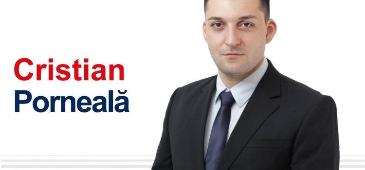 Cristian Sergiu Porneală este candidatul Aliantei USR PLUS pentru funcția de primar al municipiului Tulcea